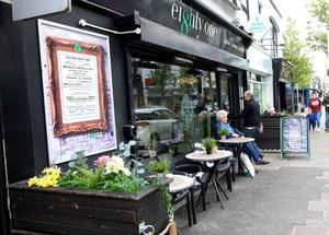 Cafe Eighty One in the popular Co Down town