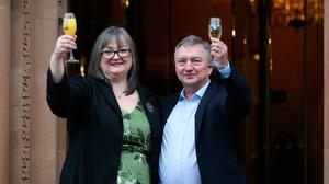 EuroMillions winners Frances and Patrick Connolly