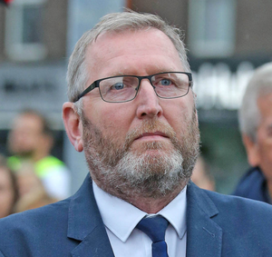 Tolerated: Doug Beattie has called for improvements to the justice system in Northern Ireland