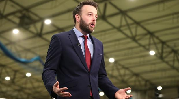 SDLP leader Colum Eastwood was elected to the Commons last week (Niall Carson/PA)
