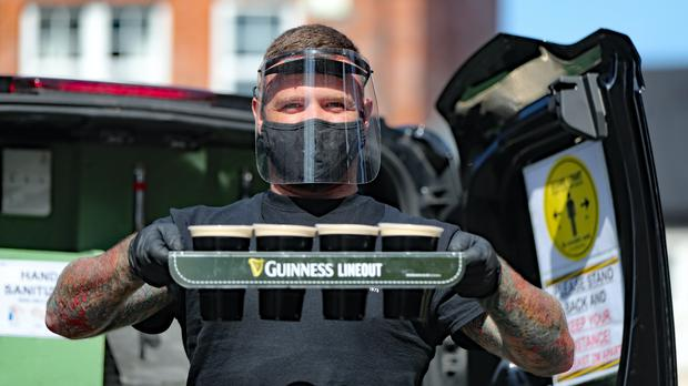 A pint delivery service is to resume in Belfast following agreement between the pub involved and the Police Service of Northern Ireland (Niall Carson/PA)