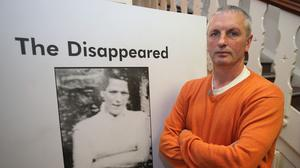 Michael McConville wants justice for his murdered mother Jean