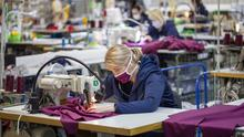 O'Neills is helping in the fight against coronavirus by manufacturing medical scrubs at its Strabane factory