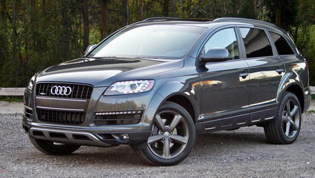 An Audi Q7 like the one in which the family got trapped