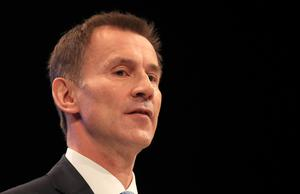 Jeremy Hunt suggested that a review of the use of cannabis oil for medical purposes would be completed as quickly as possible (Peter Byrne/PA)