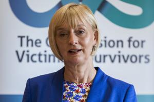 Judith Thompson said victims had once again been allowed to slip down the list of priorities (Liam McBurney/PA)