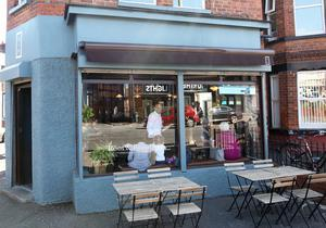 Root & Branch cafe on the Ormeau road in Belfast