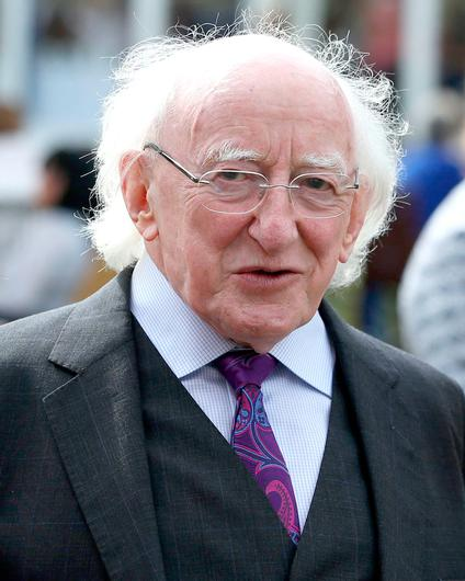 Inclusive: Michael D Higgins said he is a supporter of integrated education