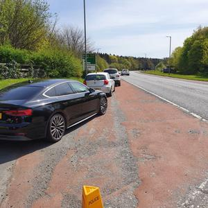 A local council revealed a photograph of cars lined up outside a country park in Co Armagh just a day after restrictions were relaxed