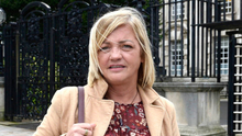Worried: Deborah McGuinness, sister of one of Stone's victims from Milltown atrocity