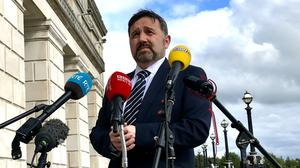 Health Minister Robin Swann announced fertility services in Northern Ireland will resume on a phased basis (David Young/PA)