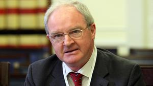 Sir Declan Morgan has warned about the impact of court closures