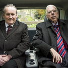 Colm Meaney and Timothy Spall as Martin McGuinness and Ian Paisley
