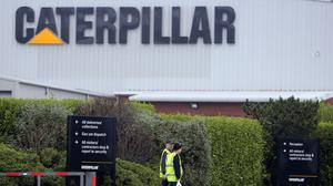 US manufacturer Caterpillar is planning to cut up to 700 jobs at its plant in Larne, Co Antrim (Paul Faith/PA)