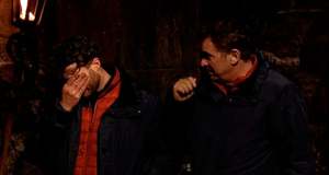 Jordan North and Shane Richie prepare for The Viper Vault challenge