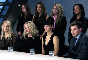 Programme Name: The Apprentice - TX: 08/05/2013 - Episode: n/a (No. 2) - Embargoed for publication until: 08/05/2013 - Picture Shows: *** embargoed until 22.01pm Wednesday 8th May*** The girls team, Tim Stillwell - (C) Boundless - Photographer: screen grab
