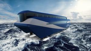 The ferry concept of Olympian Iain Percy