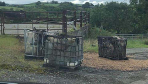Pods of toxic sludge dumped at Darkley