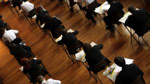 There will be no statistical standardisation using an algorithm to determine grades (David Davies/PA)
