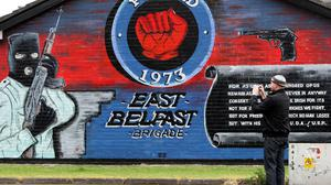 Paramilitary gangs carried out on average more than one attack a week in Northern Ireland this year, the Government said (Paul Faith/PA)