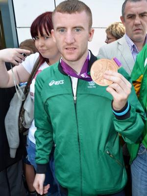 Paddy Barnes with his Olympic bronze
