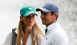 Rory McIlroy with his wife Erica Stoll