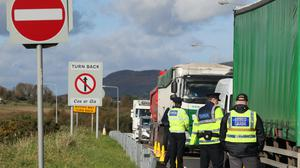 Northern Ireland could act as a conduit for illegal goods travelling from the EU into Great Britain after Brexit, police warned (Brian Lawless/PA)