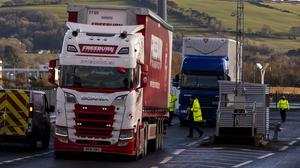"The Northern Ireland protocol is proving a ""monumental"" challenge for officials implementing EU rules at the ports, the chief vet said (Liam McBurney/PA)."