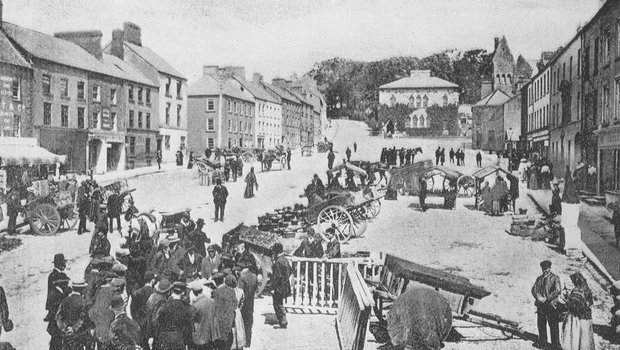 Market Square in Dungannon