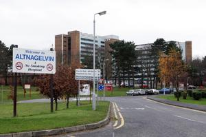 A person suspected of having coronavirus was put into isolation at Altnagelvin Hospital in Londonderry yesterday, as two other people in Northern Ireland were confirmed to be infected