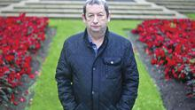 Alfie McCrory pictured at the Shankill bomb memorial garden.  Mr McCrory pulled people form the rubble in the aftermath of the IRA bomb attack at the fishmongers in which 10 people were killed including one of the bombers.