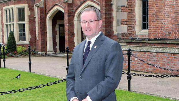 Professor Patrick Johnston, president and vice-chancellor of Queen's University