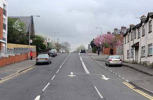 The Whitewell Road in Belfast