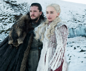 Kit Harington and Emilia Clarke in Game of Thrones which was mainly filmed across Northern Ireland