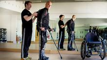 Five years on from his accident, Mark Pollock is dedicated to finding a cure for paralysis