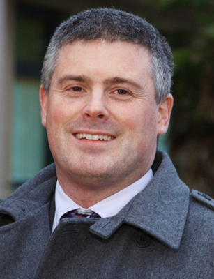 Delighted: Alliance's Michael Long