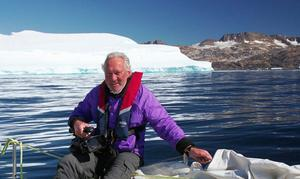 Broadcaster Brian Black in the Arctic
