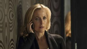 Gillian Anderson playing DSI Stella Gibson in The Fall (BBC/PA)