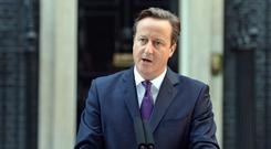 David Cameron said the starting gun has been fired on a major programme of devolution