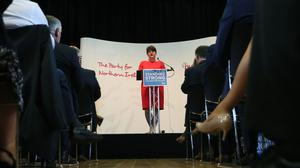 The DUP manifesto, launched by party leader Arlene Foster, outlined plans for centenary celebrations