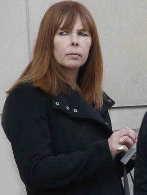 Ryan's mother Gwen Mills outside court yesterday