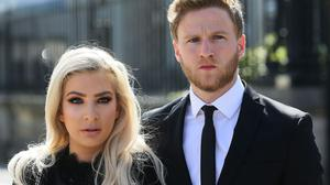 Model Laura Lacole and footballer Eunan O'Kane are fighting for official recognition of their humanist wedding.