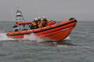 The rescue boat was originally made for RNLI on Isle of Wight