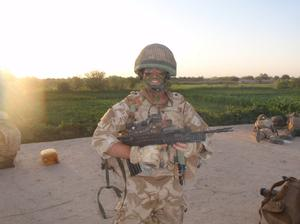 During his days as a captain in the Royal Artillery