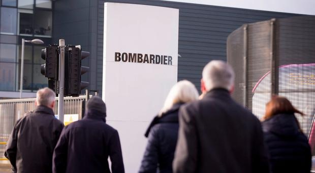 Bombardier employs around 3,600 people in Northern Ireland