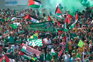 Fermanagh fans during the match