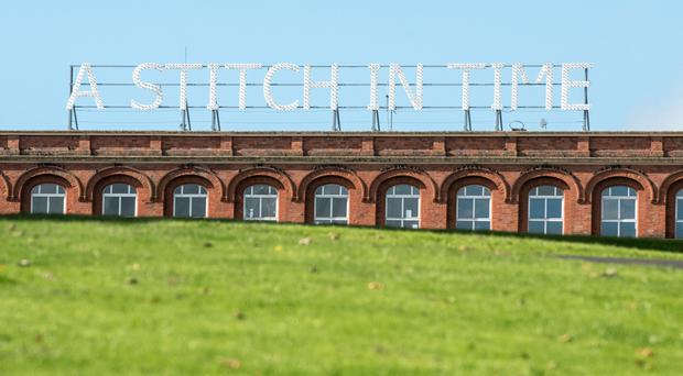 The Stitch in Time art installation in Londonderry