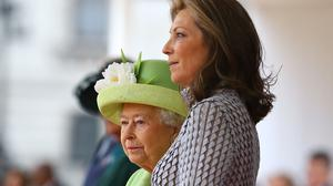 Colombian president Juan Manuel Santos's wife, Maria Clemencia Rodriguez de Santos, has accompanied him for the official state visit to the UK