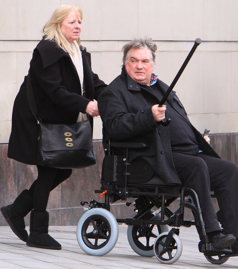 Court: Dolores and Noel Savage