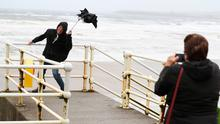 Strong winds are forecast to hit NI. [Stock image]